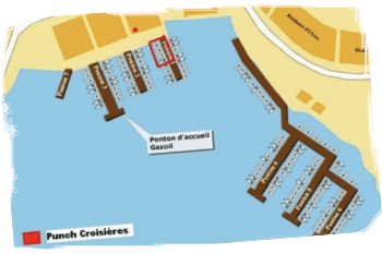 Carte d'accès à Punch Croisière